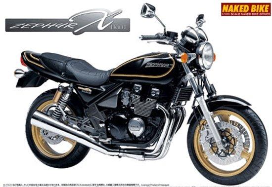 Kawasaki Zephyr - Aoshima modelbouw pakket 1:12