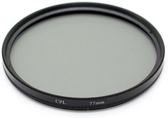 Polarisatie Filter - 77 MM - Circulair CPL Foto Lens Filter - Voor Canon / Nikon / Sony Camera