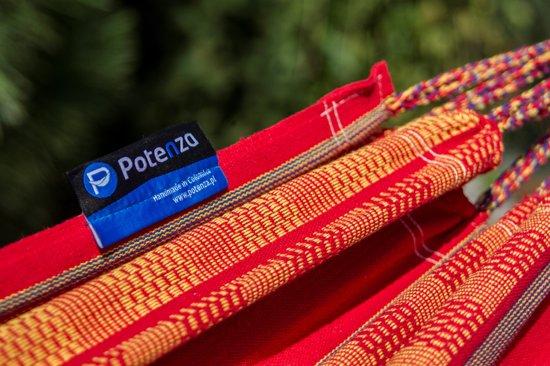 Potenza Pereida Double  - 2 persoons hangmat / twee persoons hangmat / (draagkracht:200 kg) Topkwaliteit & Luxe