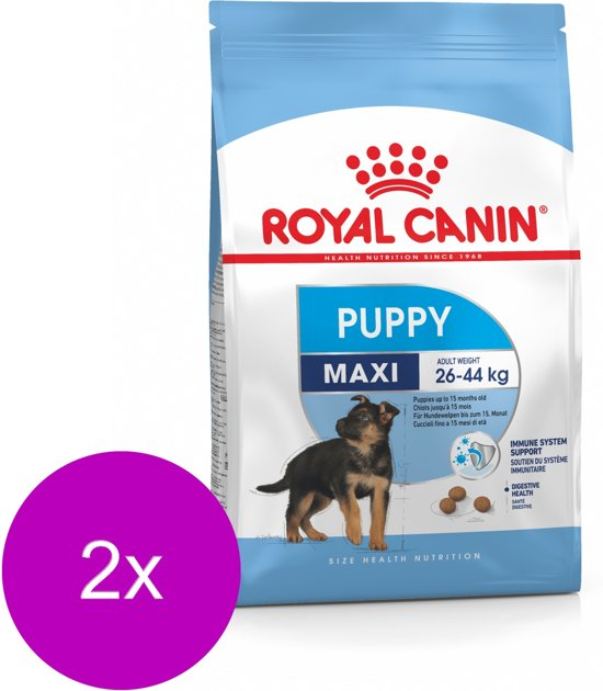 Royal Canin Shn Maxi Puppy - Hondenvoer - 2 x 15 kg