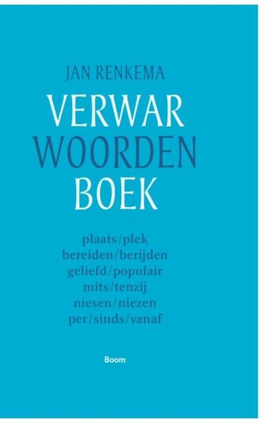 Verwarwoordenboek