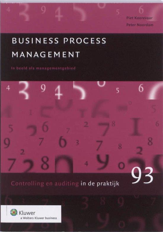 Controlling auditing in de praktijk 93 Business Process Management