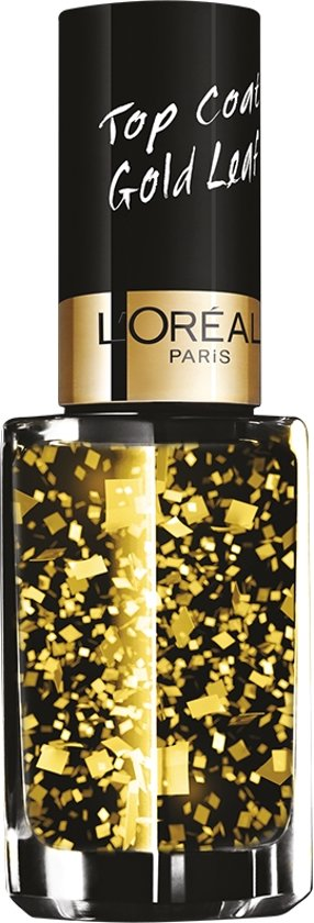 L'Oréal Paris Color Riche Le Vernis - 920 Gold Leaf - Goud - Nagellak Topcoat