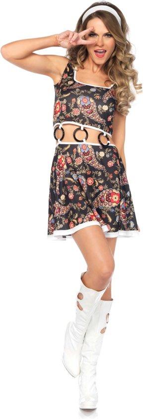 Hippie Groovy kostuum voor vrouwen  - Verkleedkleding