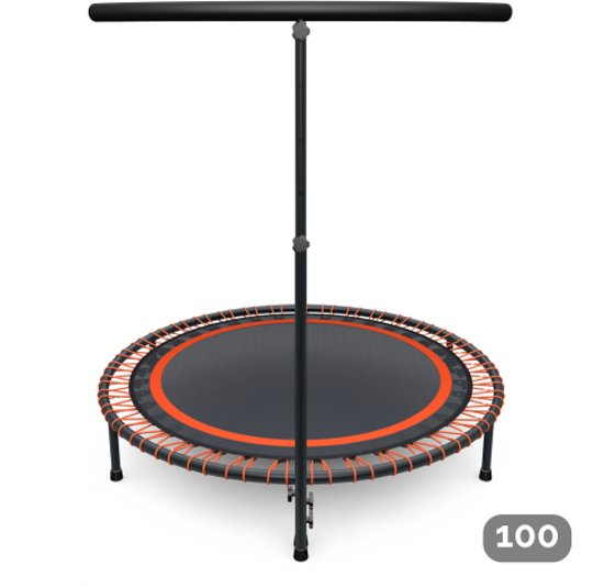Flexbounce mini-trampoline oranje