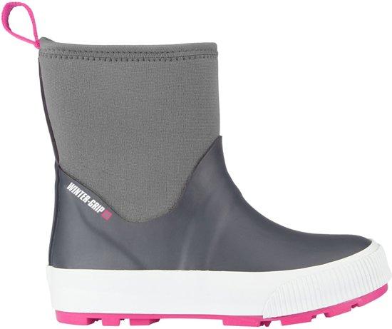 Winter-grip Snowboots Jr - Neo Welly - Antraciet/Grijs/Roze - 35 (valt klein)