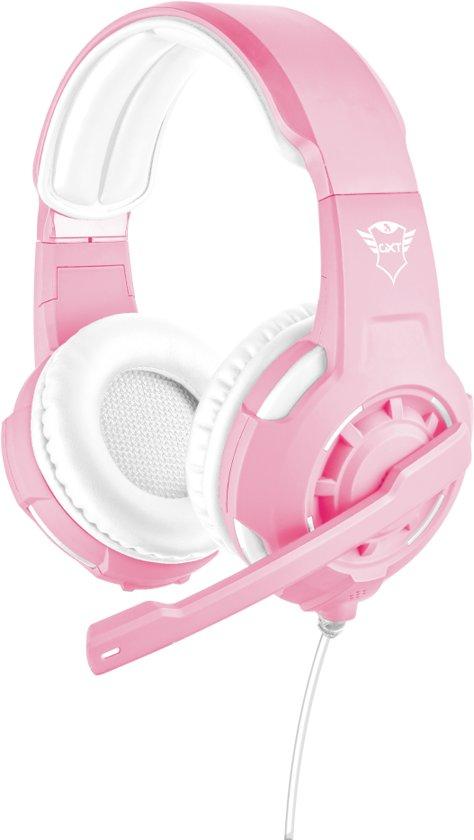 GXT 310 Radius - On-ear Gaming Headset voor PS4 en PC - Roze/Wit