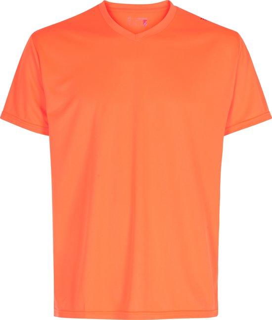 Newline Base Cool Tee 14614-73 - Sportshirt - Heren - Orange - Maat M