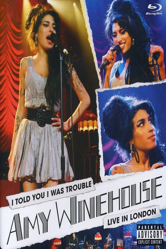 CD cover van Amy Winehouse - I Told You I Was Trouble -  Live in London (Blu-ray) van Amy Winehouse