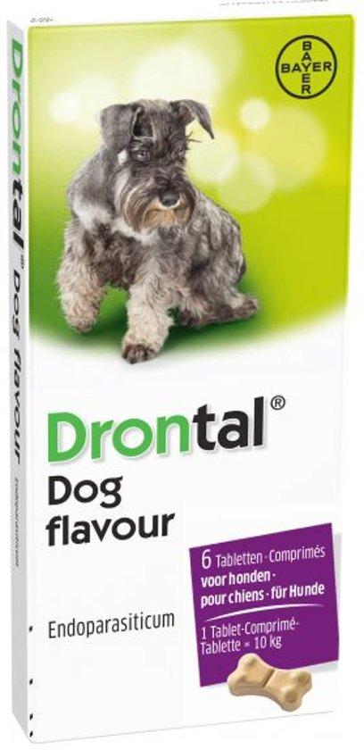 Drontal Dog Tasty Ontworming - Hond - 6 tabletten