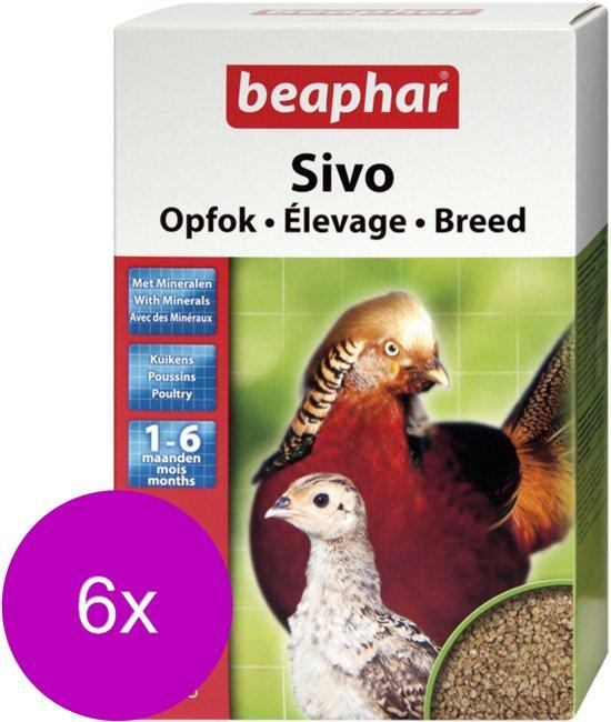Beaphar Sivo Opfok - Kippenvoer - 6 x 1 kg
