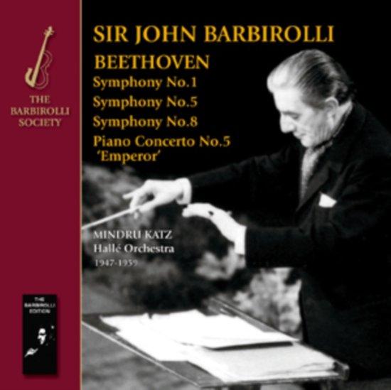 Syms 1, 5 & 8; Emperor Concerto