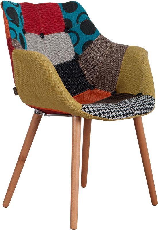 Zuiver eleven stoel multikleur for Stoel eleven