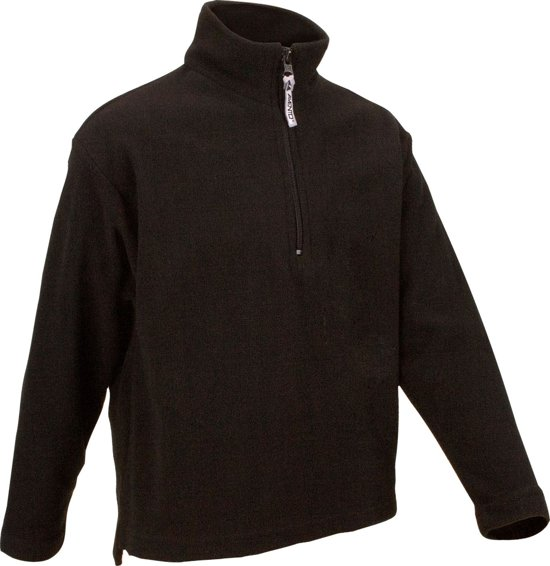 Avento Skipulli Micro Fleece Junior Zwart Maat 176