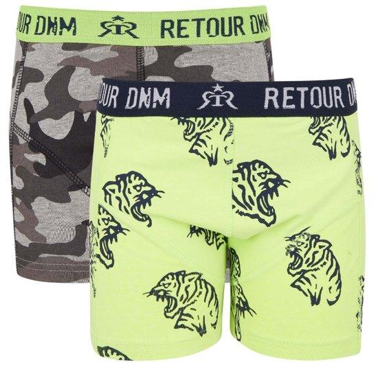 a0d0ddc7533b99 bol.com | Retour Jeans Jongens Boxershort - Neon yellow - Maat 158/164