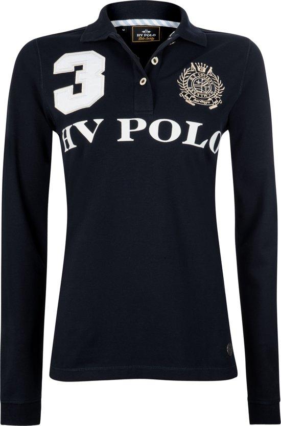 HV Polo Favouritas Eques LS - Polo Shirt - Navy - S