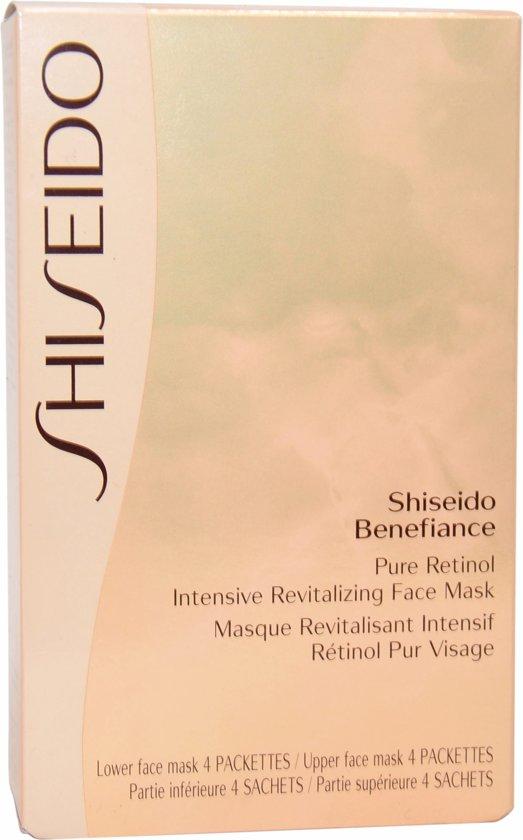 Shiseido Benefiance Pure Retinol Gezichtsmasker - 4 stuks