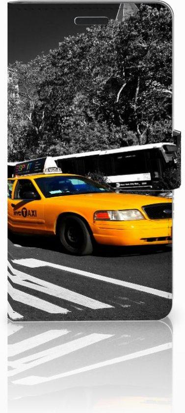 Samsung Galaxy A7 (SM-A700F) Uniek Hoesje Taxi in Vertrijk