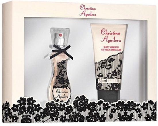 Foto van Christina Aguilera - 15 ml Eau de Toilette + 50 ml Shower Gel - Geschenkset