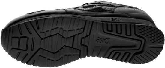 Asics Gel Lyte III H534L 9090, Unisex, Zwart, Sportschoenen maat: 35 EU