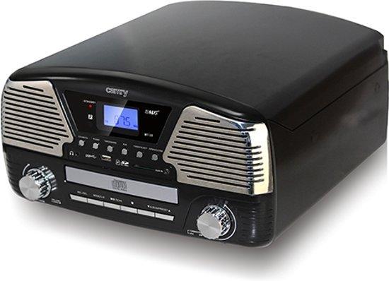 Camry CR 1134 B - Platenspeler - zwart - met afstandsbediening