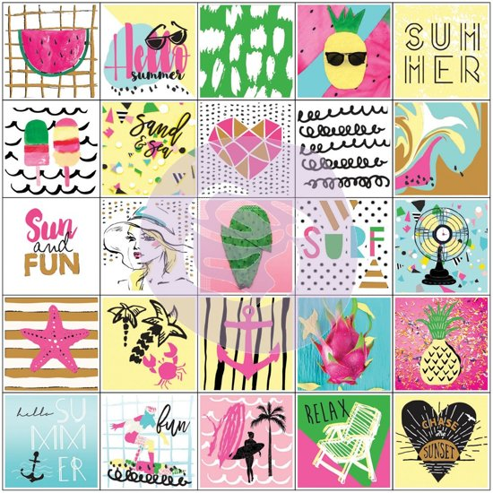 My Prima Planner Summer Planner Stickers