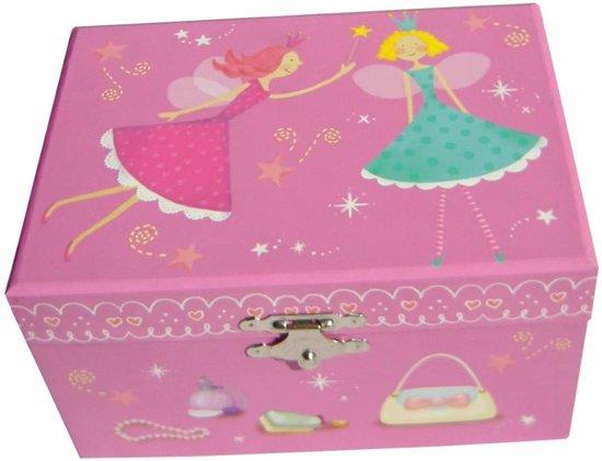 Afbeelding van Simply for Kids - Sieraden & muziekdoos - Elfje - Roze speelgoed
