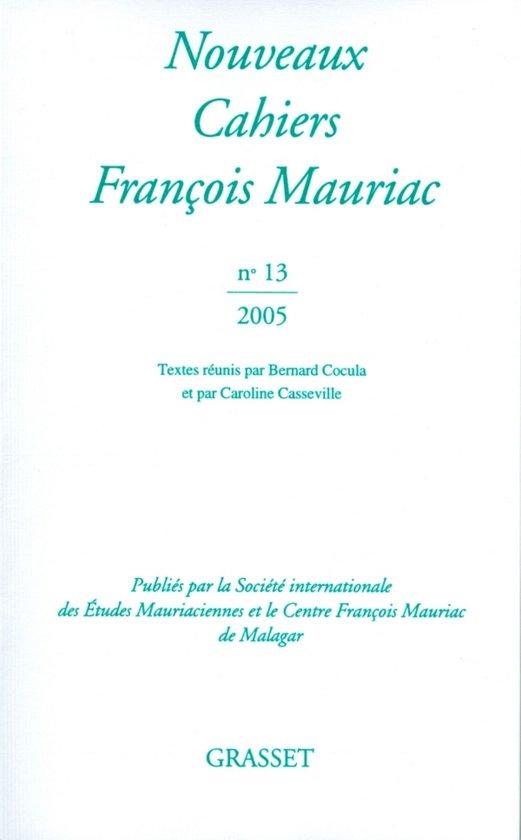 Nouveaux cahiers de François Mauriac N°13