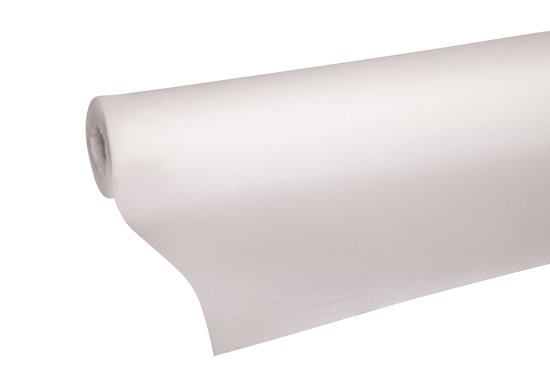 Cosy&Trendy for professionals Tafelkleed - 1,20 m x 10 m - Papier - Wit