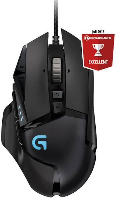 Logitech G502 Proteus Spectrum RGB Gaming Muis - PC