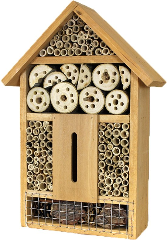 Insectenhotel - bijenhotel - bijenhuis - naturel