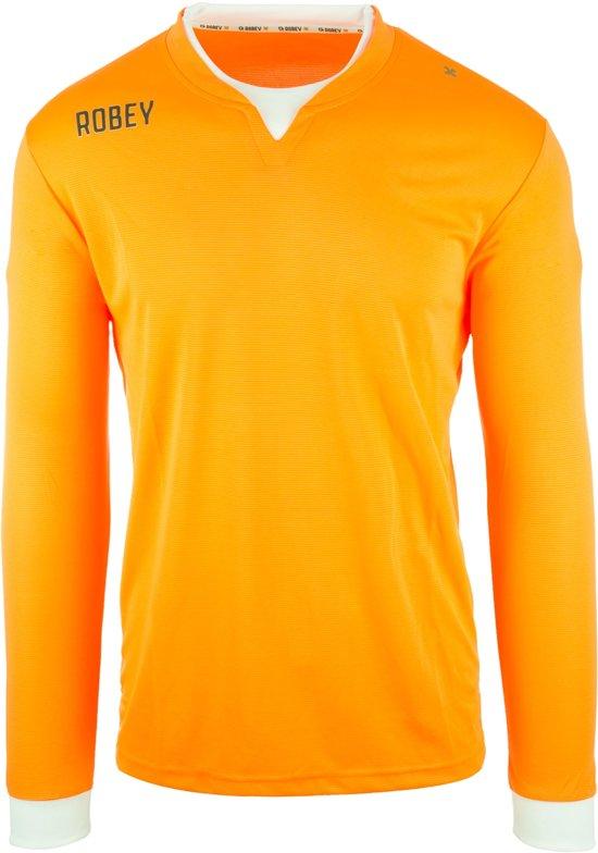 Robey Shirt Catch LS - Voetbalshirt - Neon Orange - Maat L