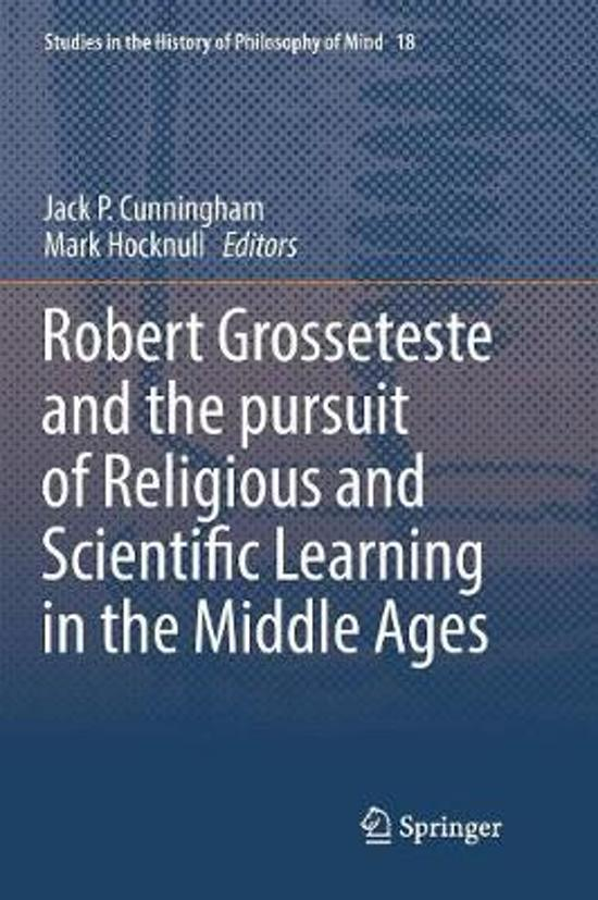 Boek cover Robert Grosseteste and the pursuit of Religious and Scientific Learning in the Middle Ages van  (Paperback)