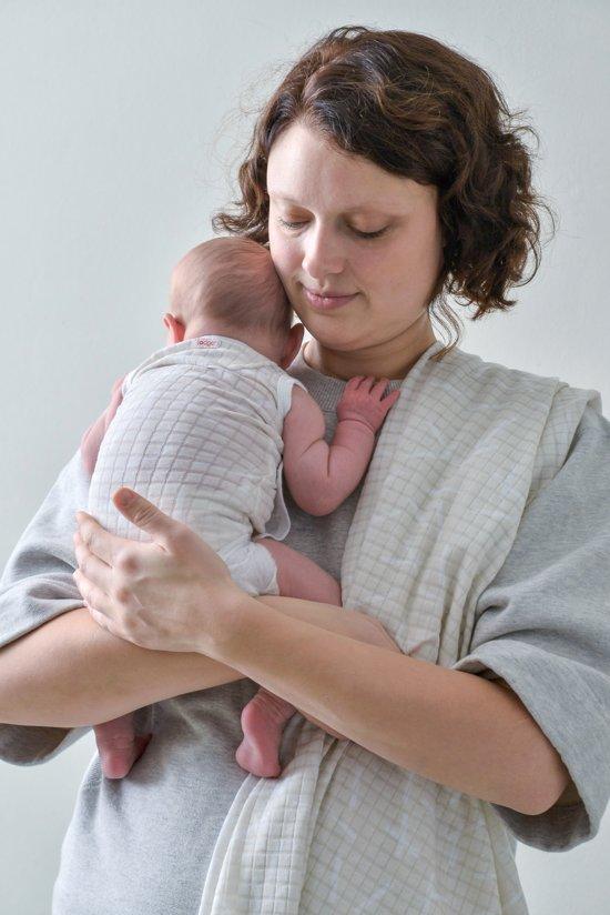 Lodger Rompertje Baby - Romper Ciumbelle - Ivoor - Mouwloos - 56