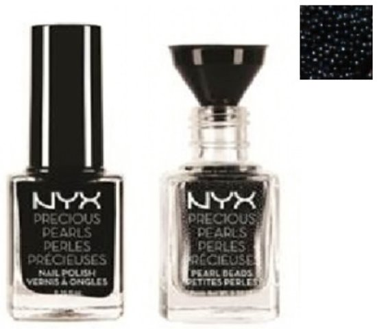 NYX Precious Pearls Nail Jewelry - PP01 Black Pearl - Giftset - Make-up geschenkverpakking