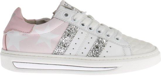 e7fe5f0c291 HIP Meisjes Sneakers Glitters H1792 - Wit - Maat 35