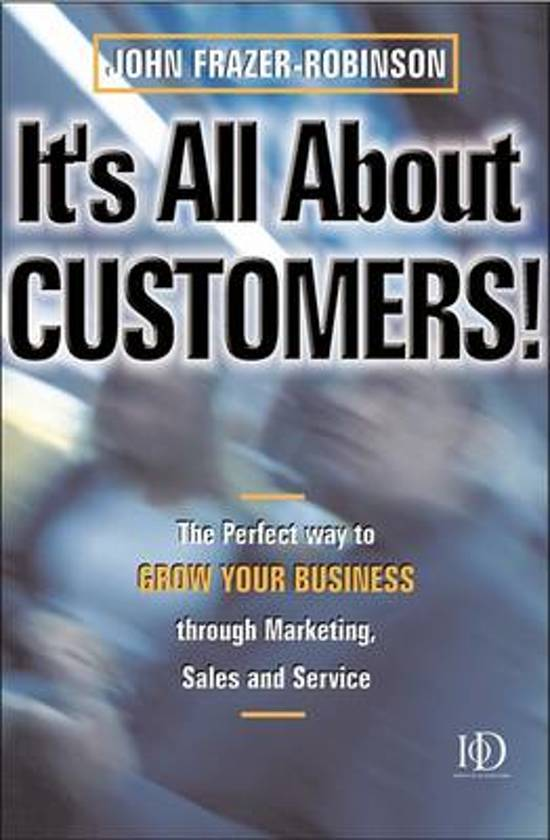 It's All About Customers!