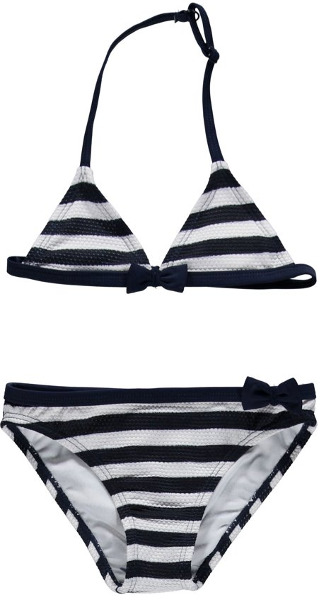Bikini zwart wit gestreept