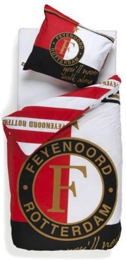 Feyenoord Dekbedovertrek 1 Persoons.Feyenoord Dekbedovertrek Default