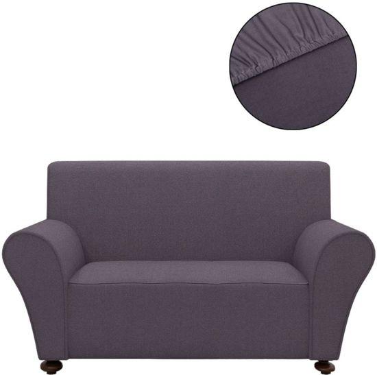 Favoriete bol.com | vidaXL Stretch meubelhoes voor bank antraciet polyester @MI56