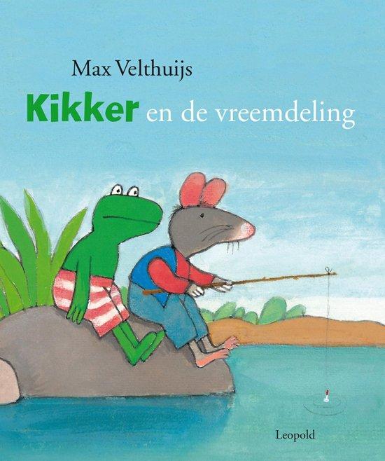 Boek cover Kikker - Kikker en de vreemdeling van Max Velthuijs (Hardcover)