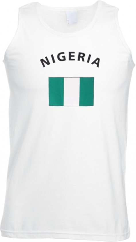 Nigeria tanktop heren L