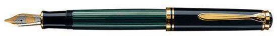 Pelikan Souverän M600 - Vulpen - Fijne penpunt - Zwart/Groen