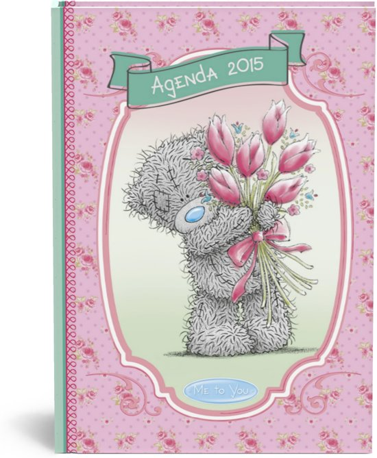 Me to You Agenda 2015 Bloemen