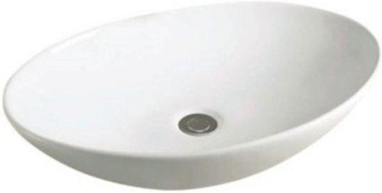 Bol.com best design opbouw waskom ovaal 50x43x11cm