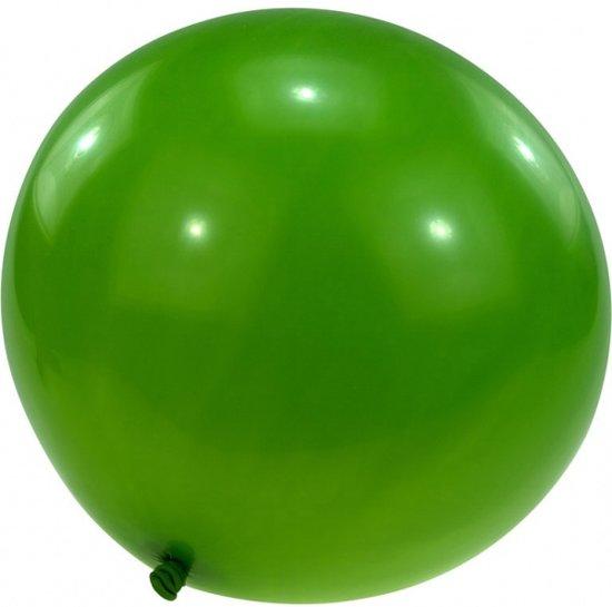 megaballon 61 cm groen per stuk