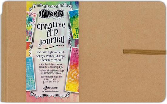 "Dylusions Creative Flip Journal 8""x5"" DYJ53576"
