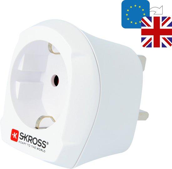 SKROSS Reisstekker Europa naar UK