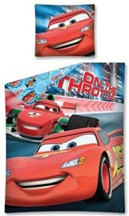 Disney Cars - Dekbedovertrek - Eenpersoons - 140x200 cm - Multi