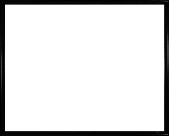 Homedecoration Montreal – Fotolijst – Fotomaat – 21 x 28 cm – Hoogglans zwart